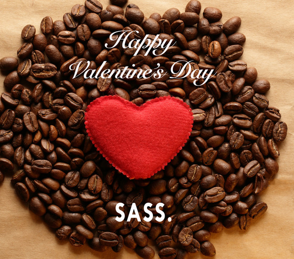 Be my valentine? Yes! with SASS.scrub!