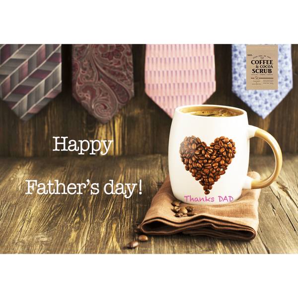 6月17日は父の日♪パパにも今年はSASS.5つの理由