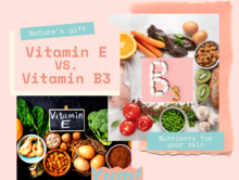 ビタミンB3 とビタミンEを使い分けるお肌の状態とは?